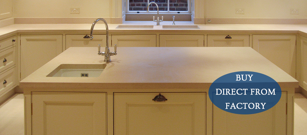Marble Kitchen Worktops from J&R Marble